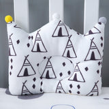 Muslinlife Newborn Boys Girls Nursing Pillows Home Decor Pillow Cushion Cotton Bedding Kids Pillow Dropship