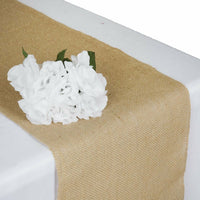 10 Pack Rustic Burlap Table Runner Wedding Party Banquet Decoration 5+ Colors!