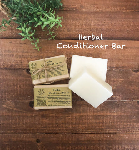 Herbal Conditioner Solid Bar/Helps Promote Hair Growth