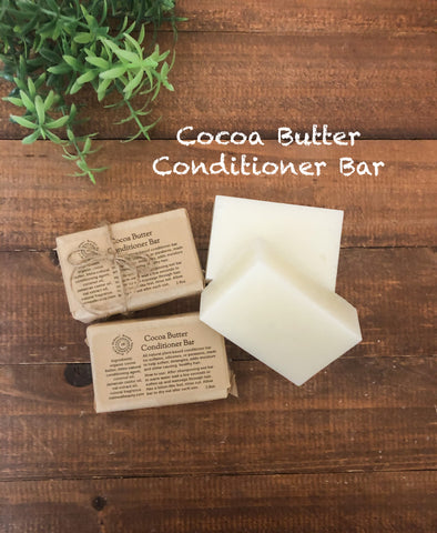 Cocoa Butter Solid Conditioner Bar