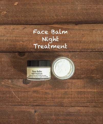Organic Face Balm Night Treatment