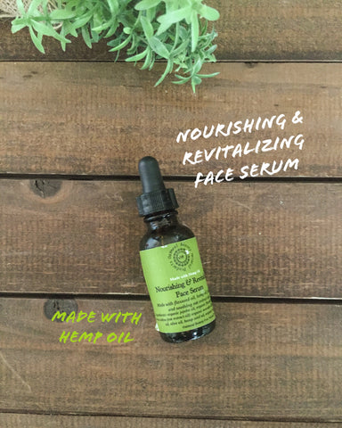 Nourishing & Revitalizing Face Serum
