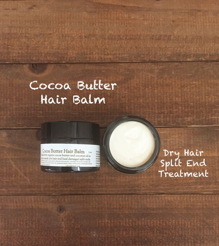 Cocoa Butter Hair Balm