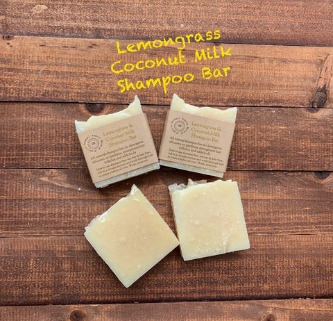 Lemongrass & Coconut Milk Shampoo Bar