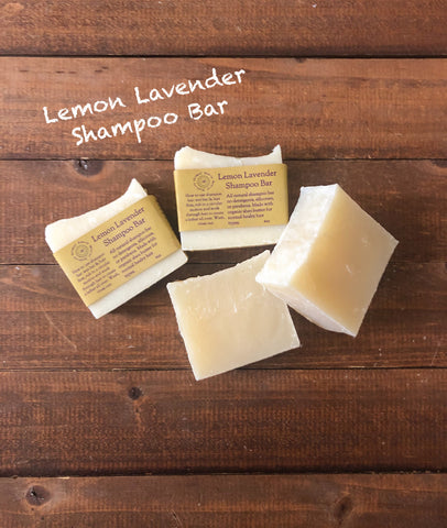 Lemon Lavender Shampoo Bar/ Normal Hair Types