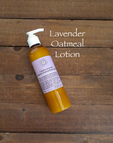 Calming Lavender Colloidal Oatmeal Body Lotion