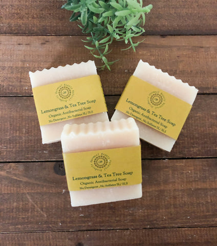 Lemongrass & Tea Tree Antibacterial Soap
