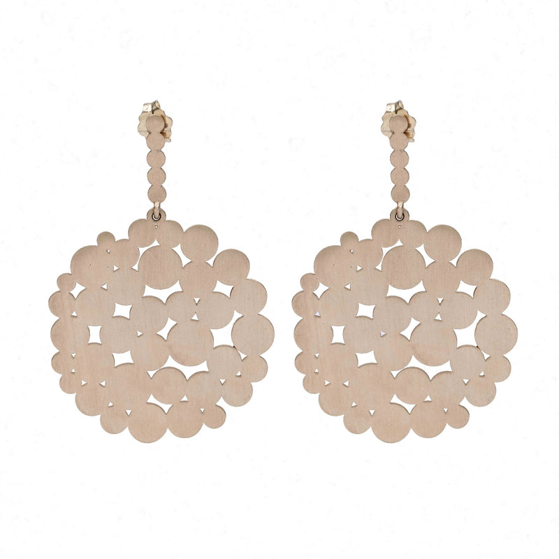 MULTI-CIRCLE POST EARRINGS