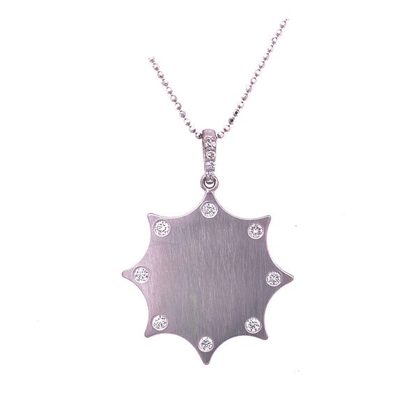 OCTAGON DIAMOND PENDANT