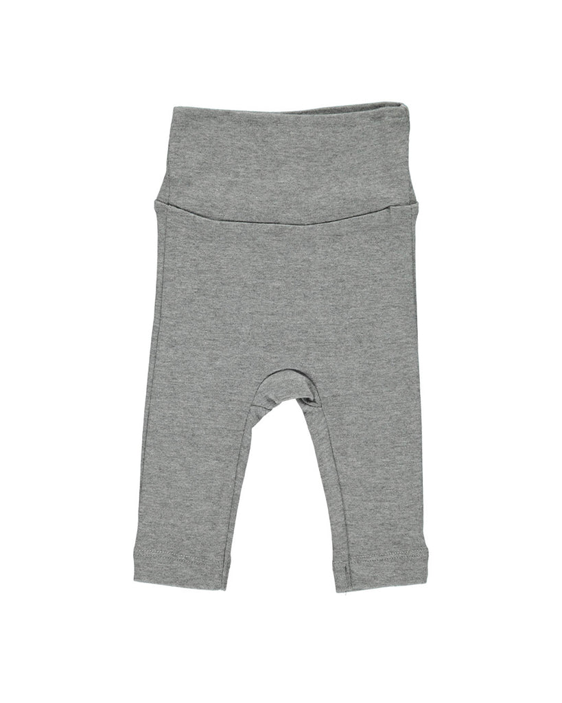 grey soft wide waistband leggings