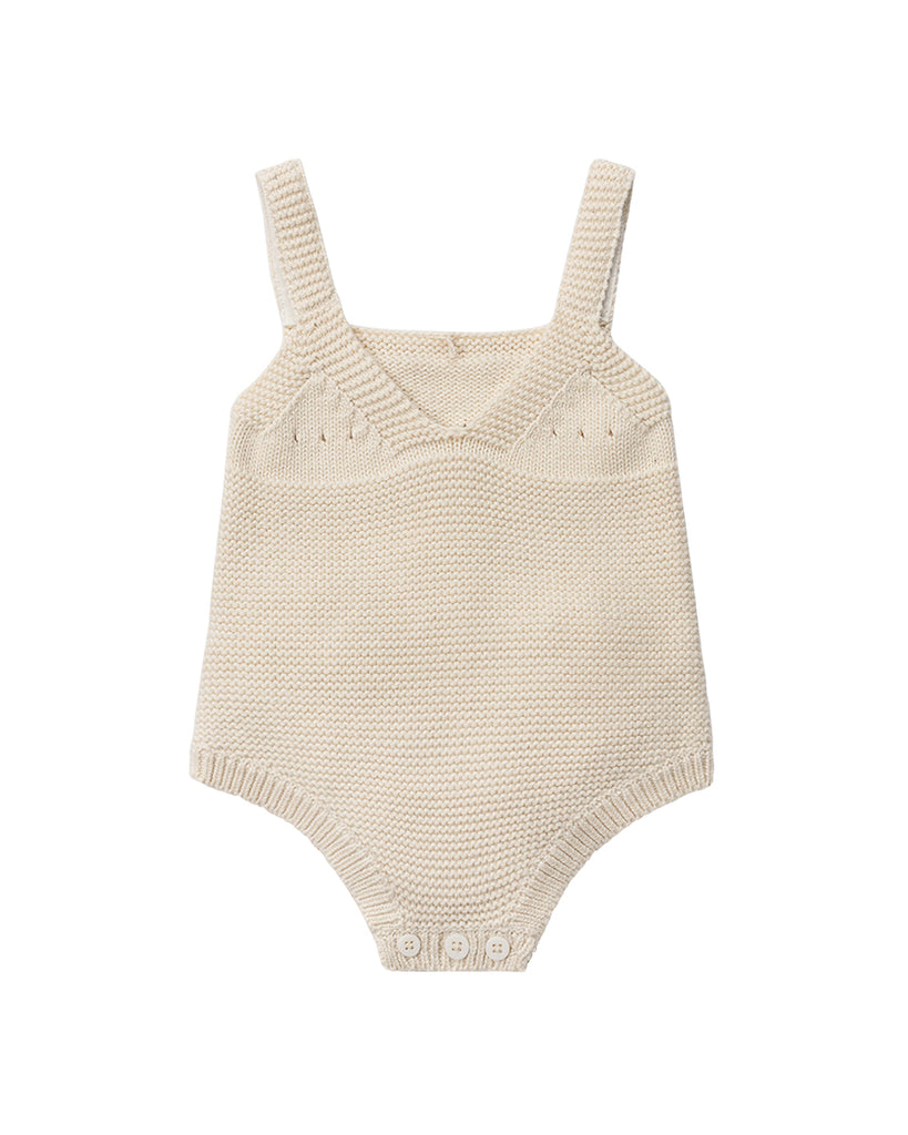 Bunny Knit Body - Cream