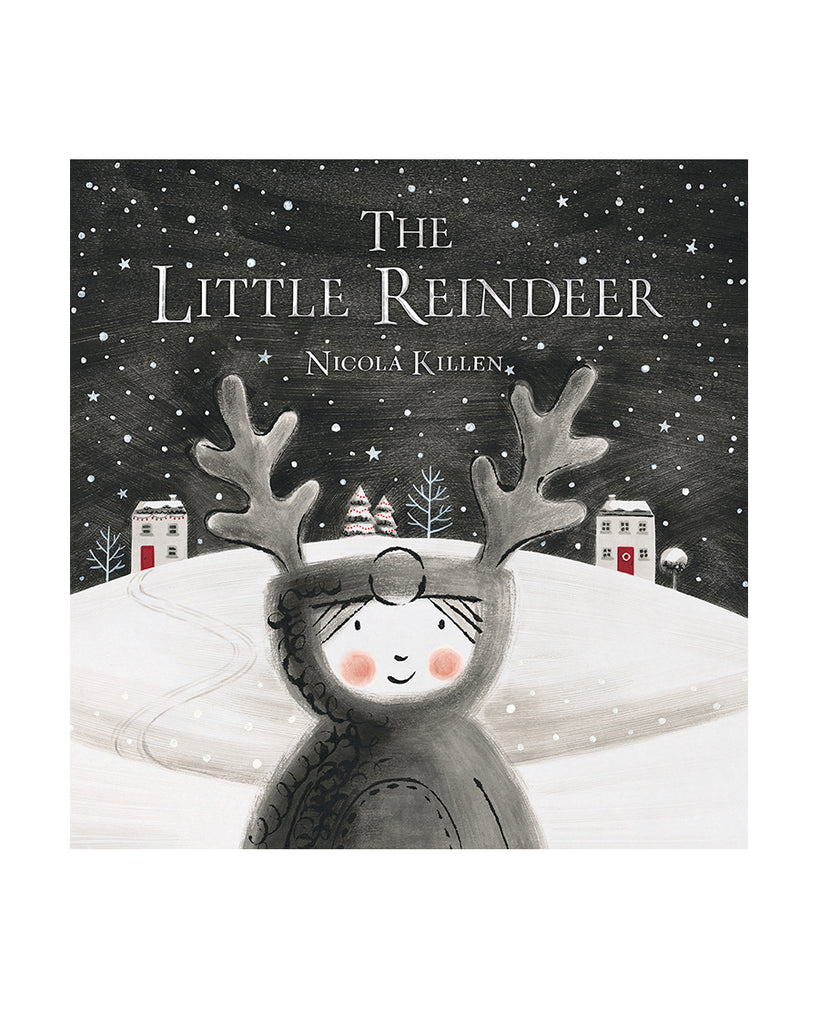 Little reindeer book with child on cover