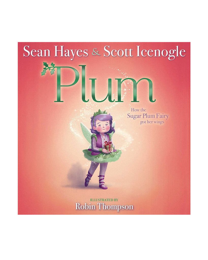 Plum book with fairy on cover