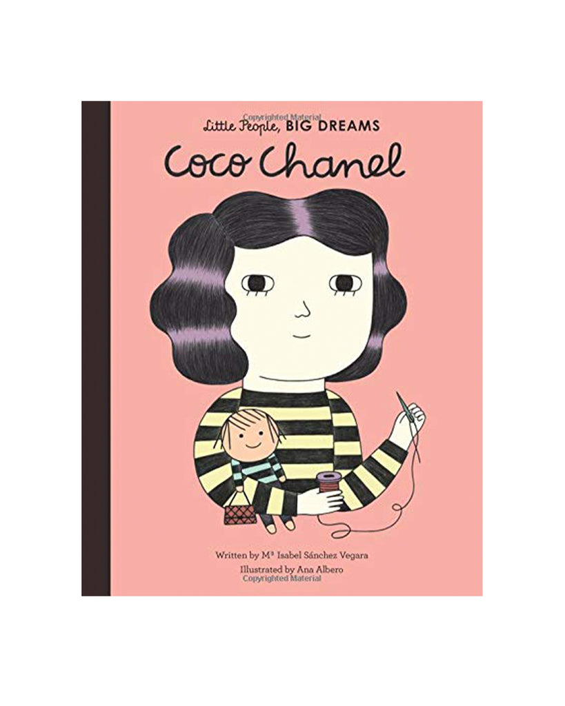 Little People, Big Dreams Coco Chanel by Maria Isabel Sanchez Vegara