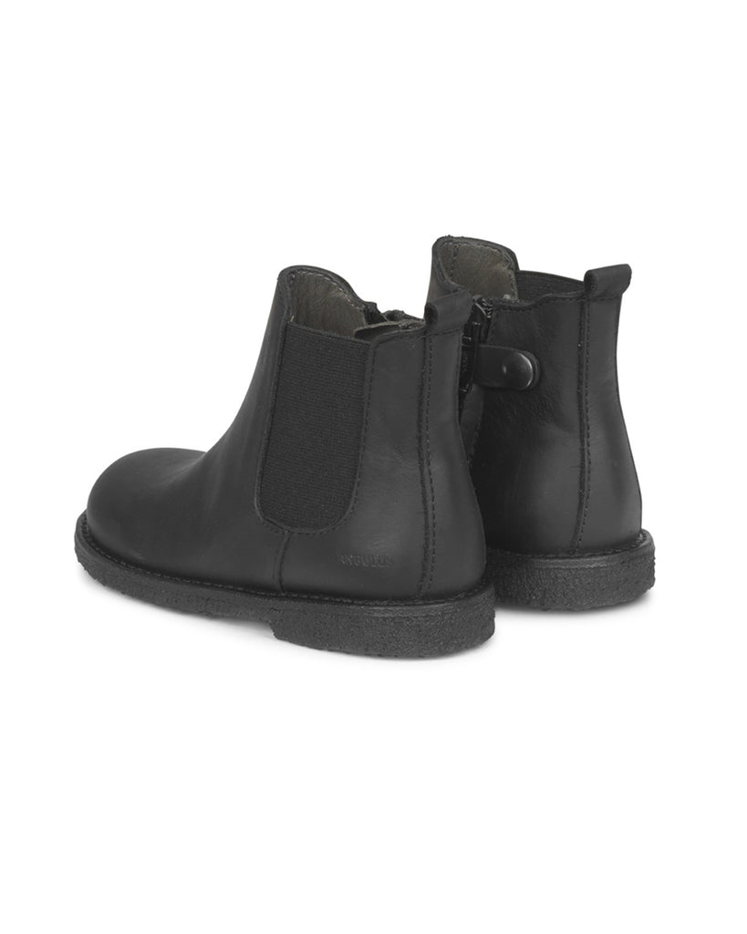Chelsea Boots With Inside Zipper - Black - English Rabbit