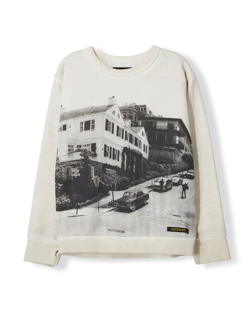 Brian Crewneck Sweatshirt - Off White Downhill