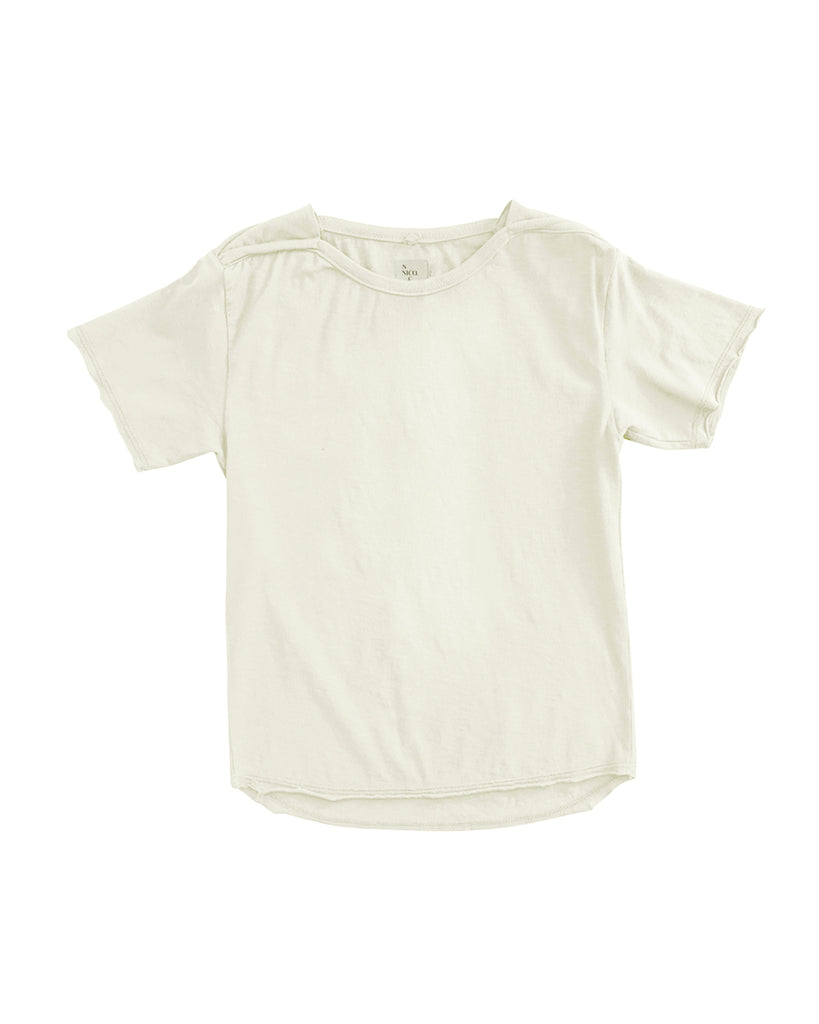 Frances Solid Tee - Soy