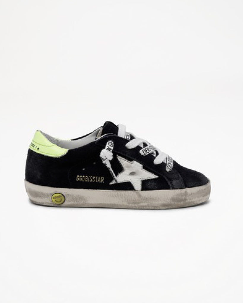 Superstar Sneakers (UK36-40)- Night Blue/White/Yellow Fluo
