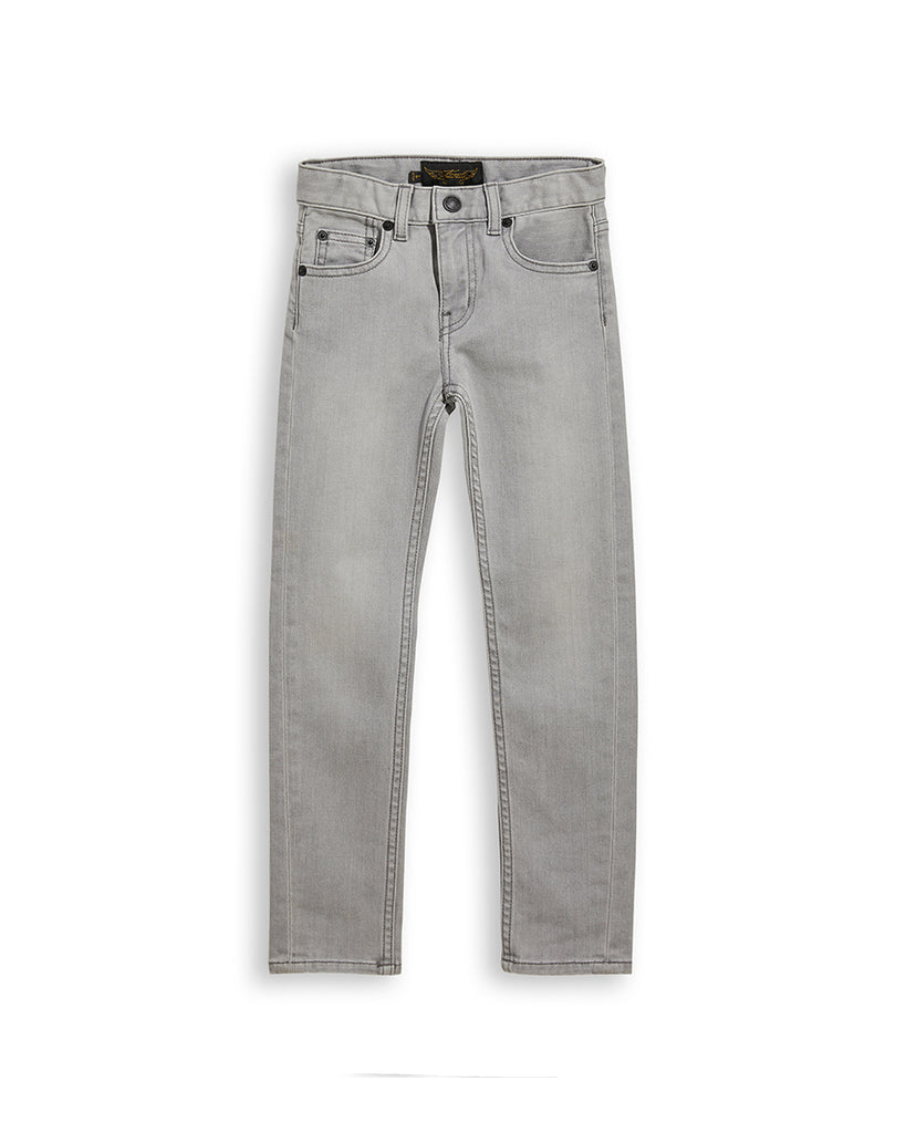 Icon 5 Pocket Jeans - Bleached Grey