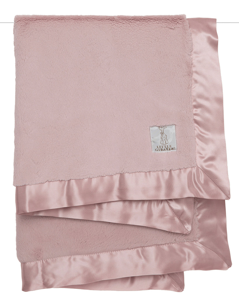 Luxe Baby Blanket - Dusty Pink