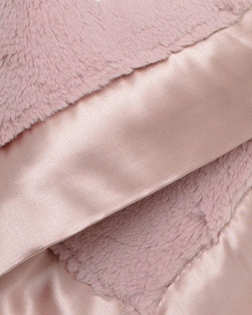 Luxe Baby Blanky - Dusty Rose