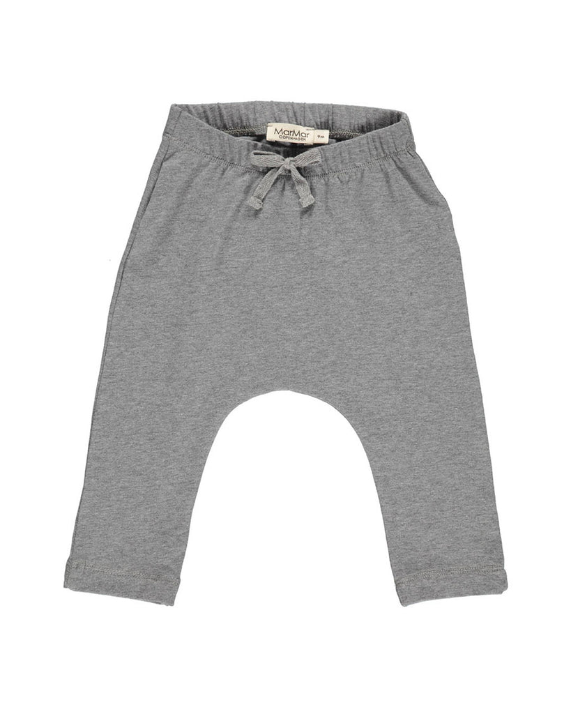 grey jersey drawstring pants