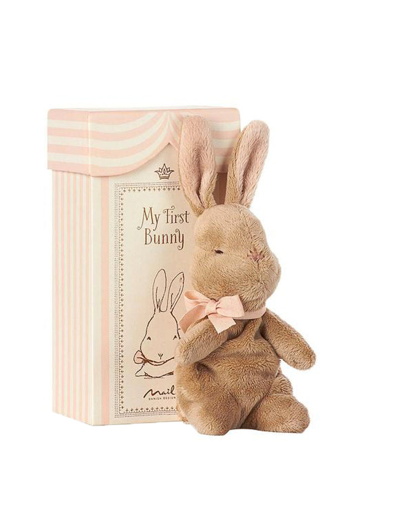 My First Bunny In Box-Rose
