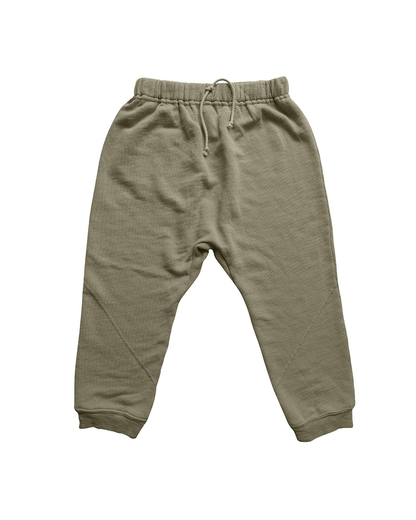 olive harem sweatpants