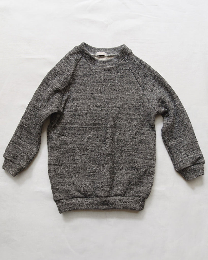heather charcoal soft pullover