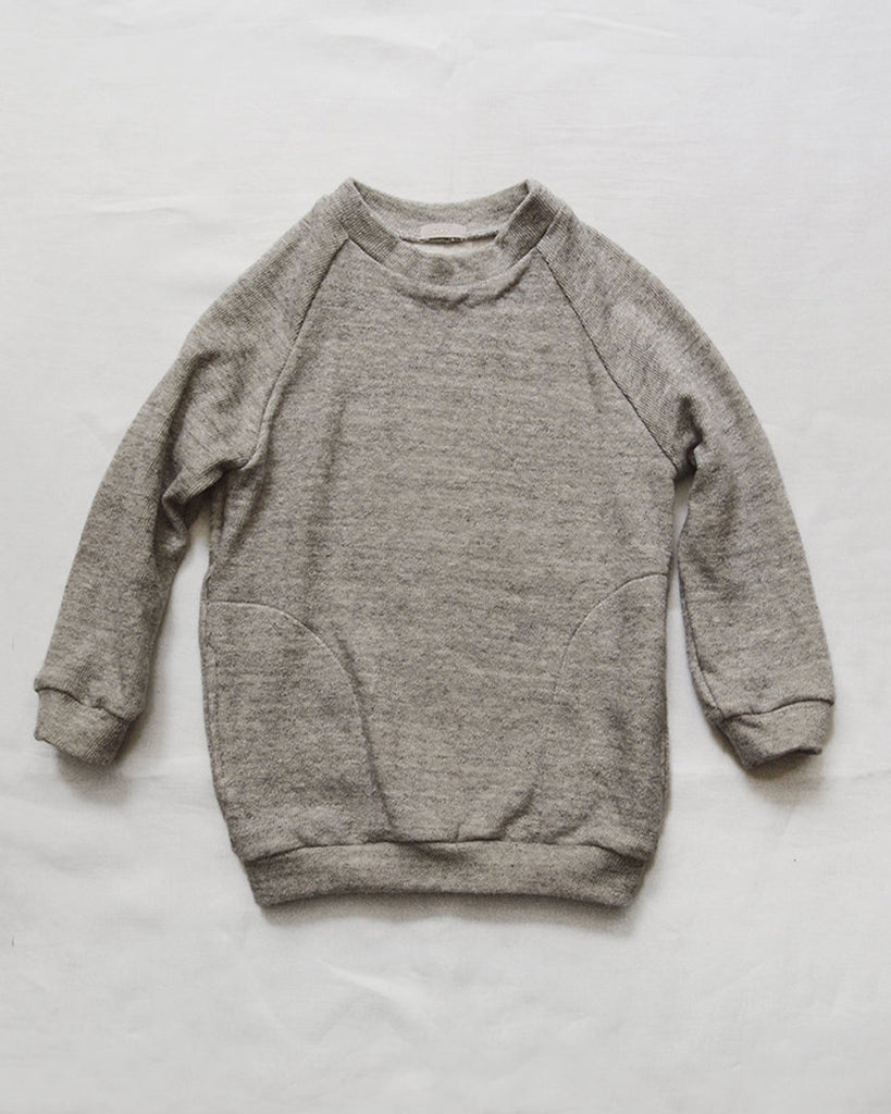 Cart Pullover - Light Grey