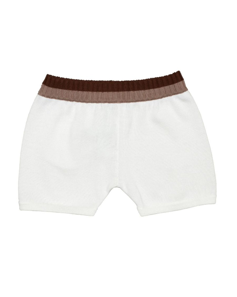 Knit Shorts with Pocket