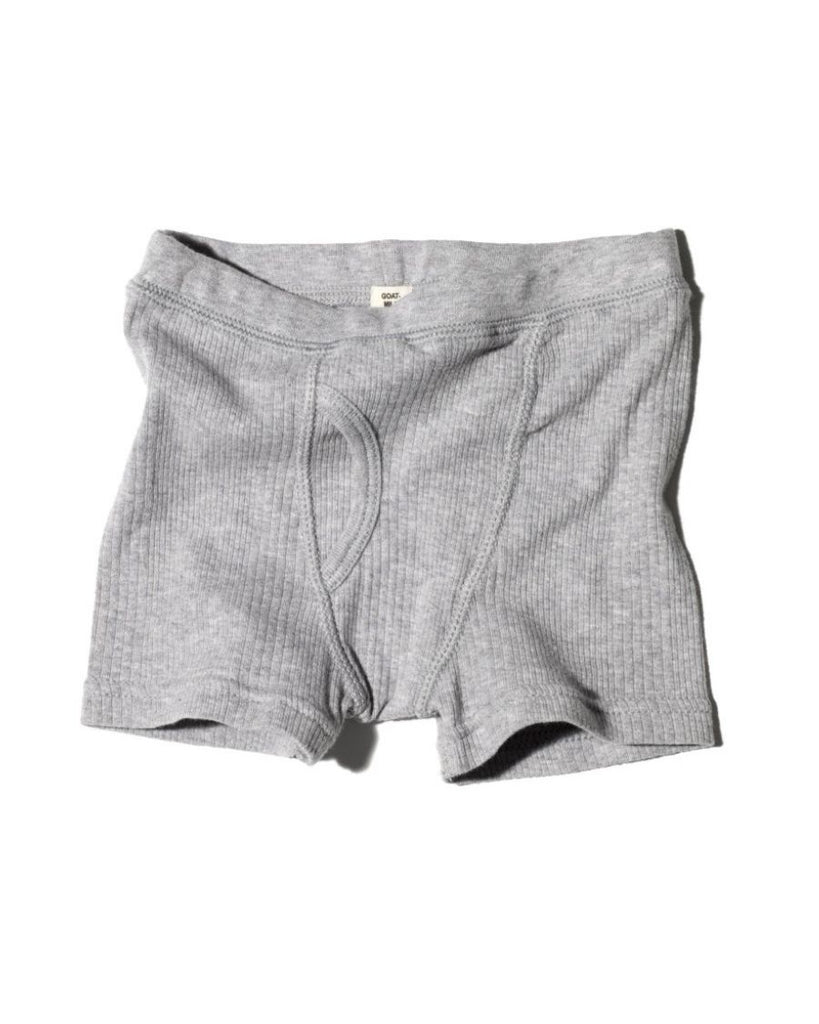 Boys Ribbed Boxer Brief