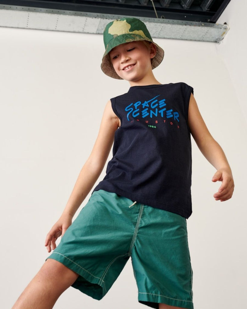 Boys Lazo Swim Trunks