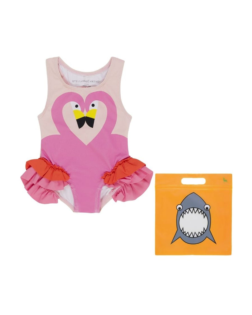 Flamingo Frills One Piece Swimsuit
