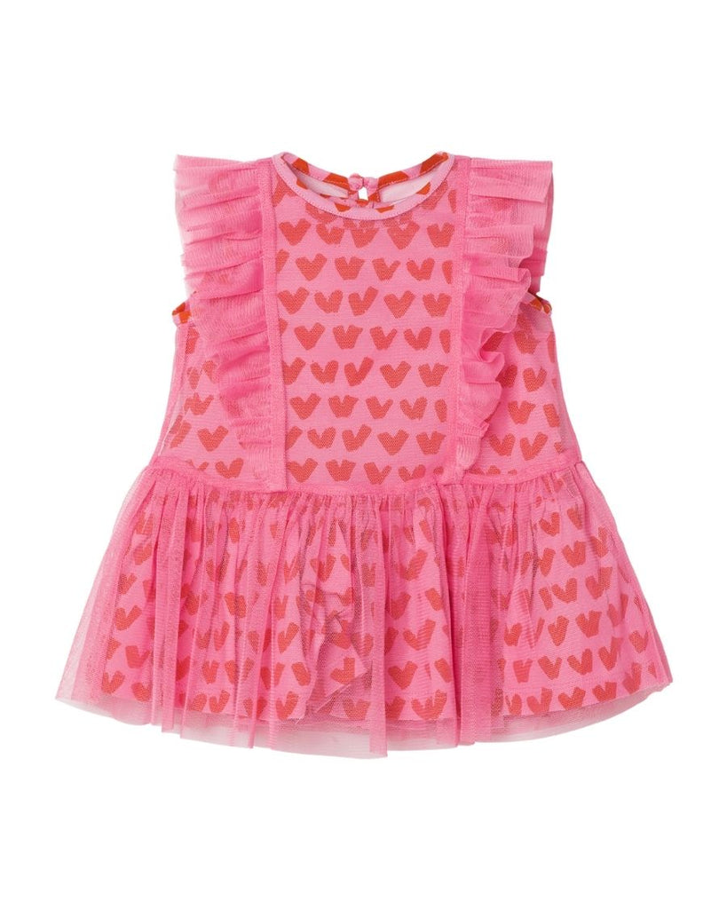 Baby Heart Tulle Dress