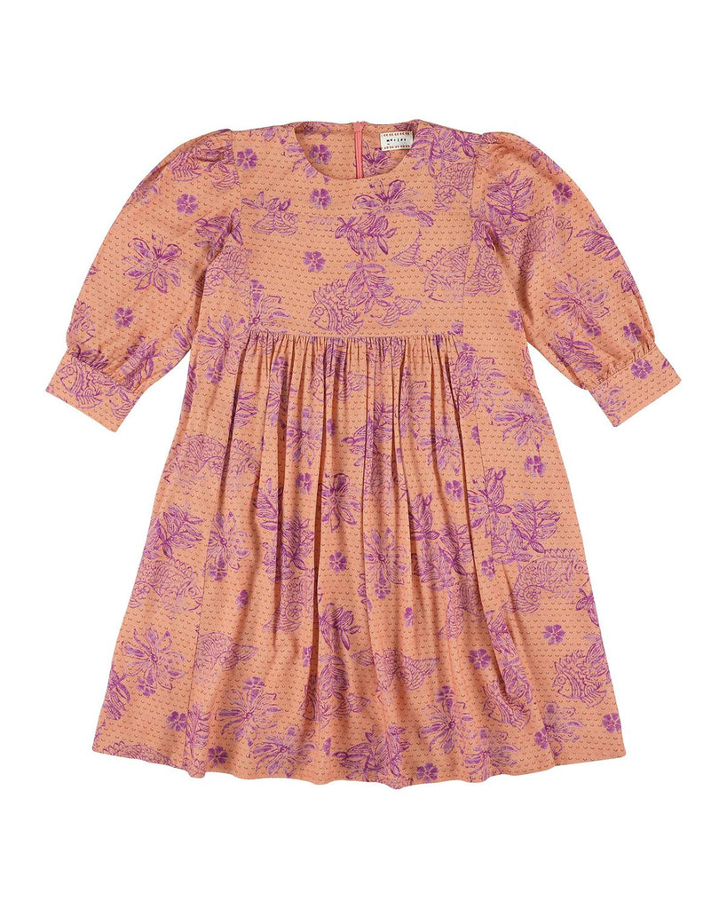 Lavender Fish Dress - Rose