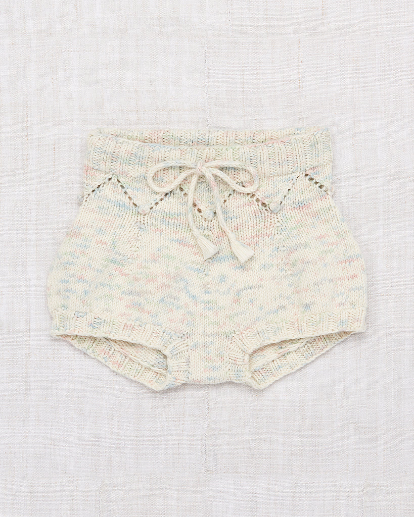 pastel speckle knit bloomers