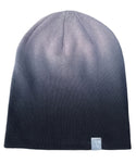Grey fade Skulk slouch beanie for Androgynous Fox