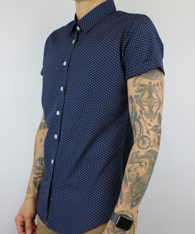 The Kacey | Short Sleeve Button Up