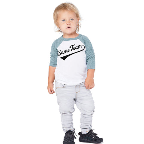 Same Team | Toddler Baseball Tee