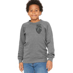 Human Like You (Fig.1) | Youth Fleece Sweatshirt