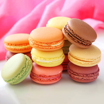 Box of 12 French Macarons - Pick Your Mix - 14 different flavours