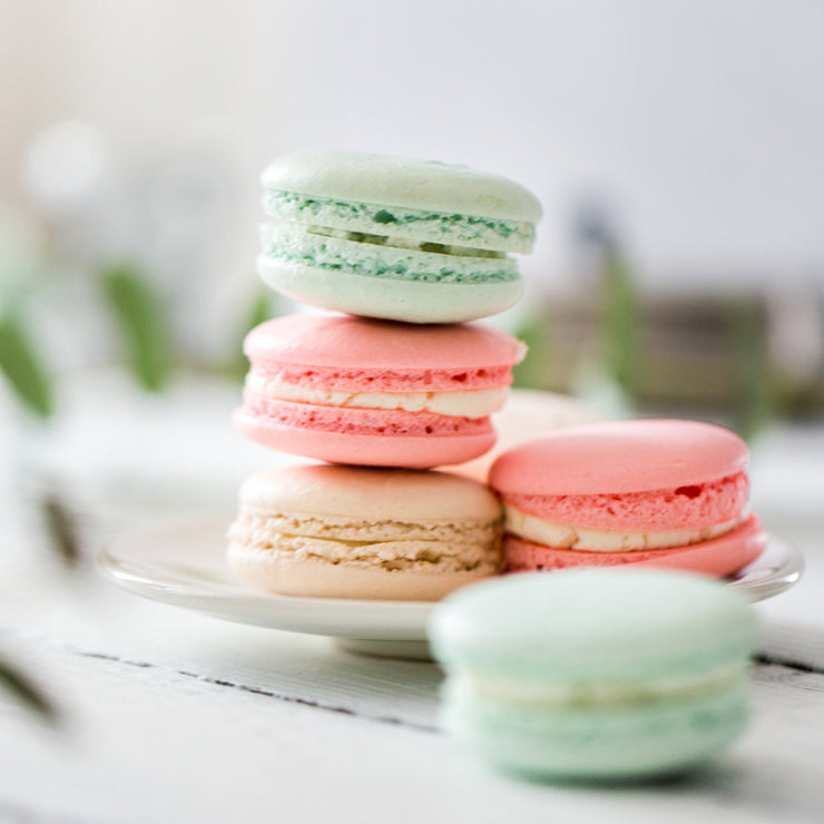 Box of 9 French Macarons - Pick Your Mix - Choice of 14 Flavours