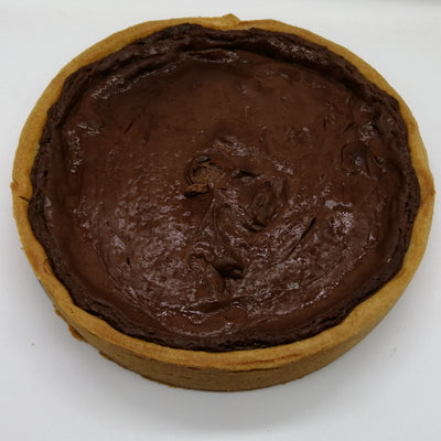 Dark Chocolate Custard Tart