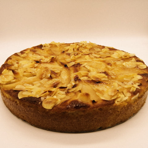 Apple Almond cake
