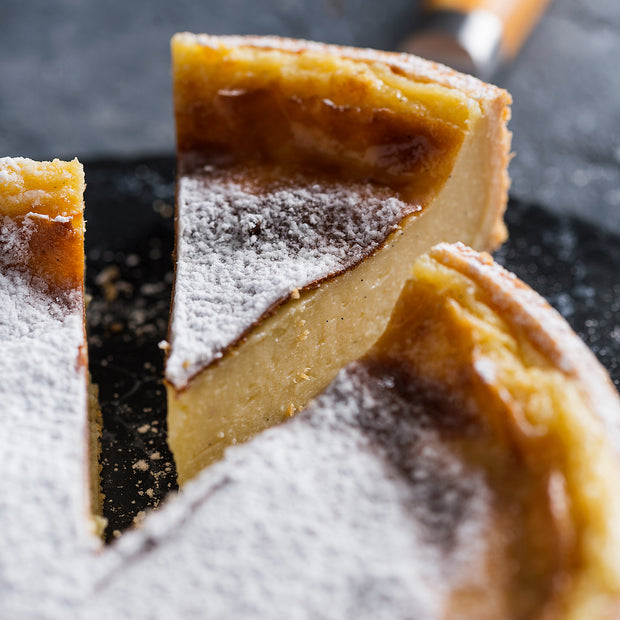 Parisian Flan (French Vanilla Custard Pie)