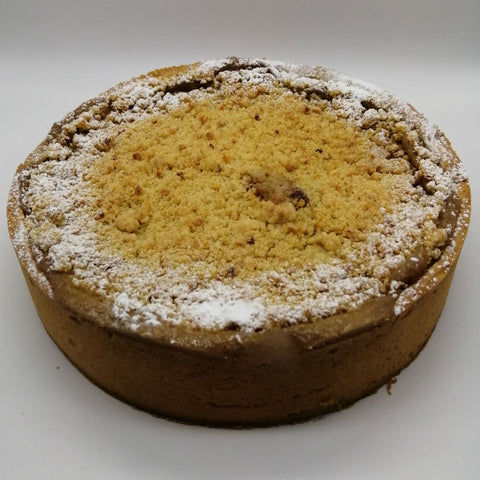Hazelnut Crumble Custard Tart