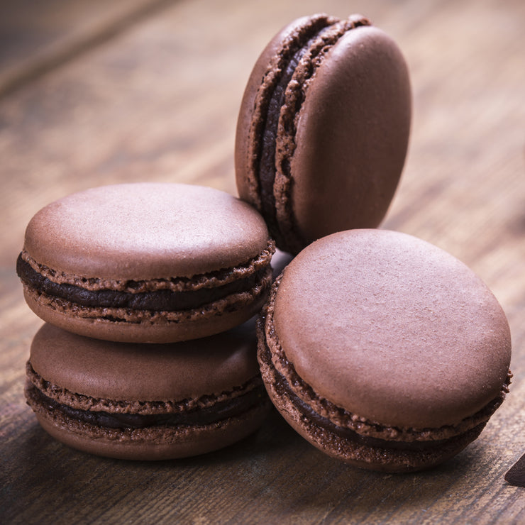 Milk Chocolate French Macarons
