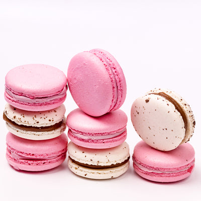 Box of 18 French Macarons - Pick Your Mix - Choice of 14 Flavours