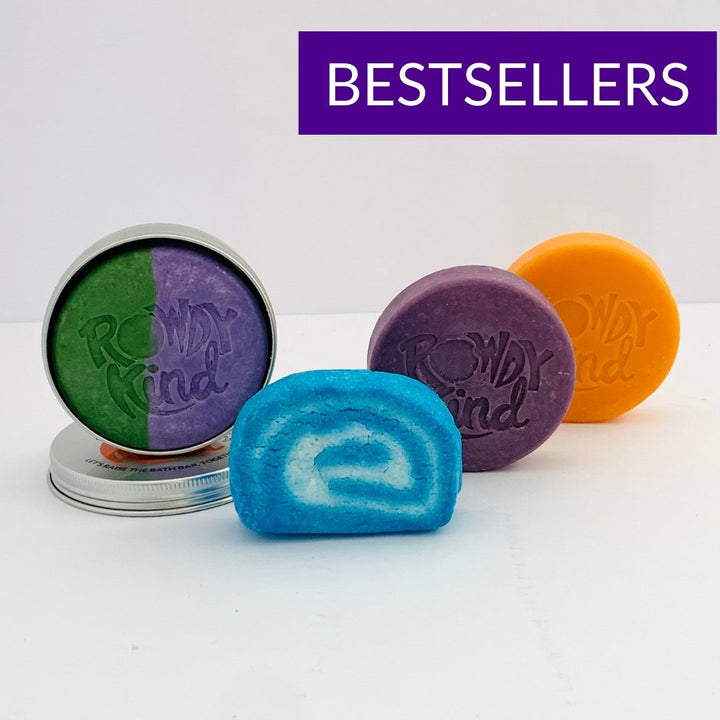 Berry Best Bathtime Bundle - Rowdy Kind - Plastic Free Shampoo Bars and Body Bars